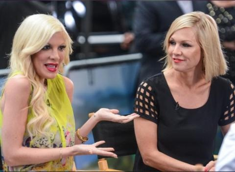 News video: Joan Rivers Asks Tori Spelling About Her Marital Troubles On Fashion Police And Her Answer Is Surprising