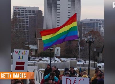 News video: Utah, Colorado Gay Marriage Proponents Face Setbacks